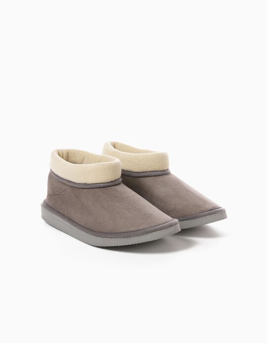 Slippers with Fold-Over Top, for Boys