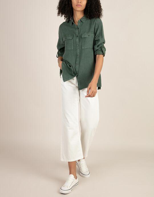 Jeans estilo cropped