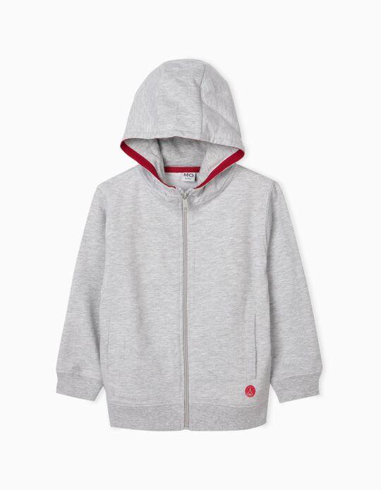Plush Hooded Jacket for Boys