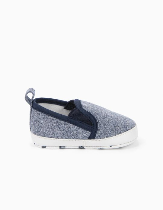 Slip-On Trainers, Blue