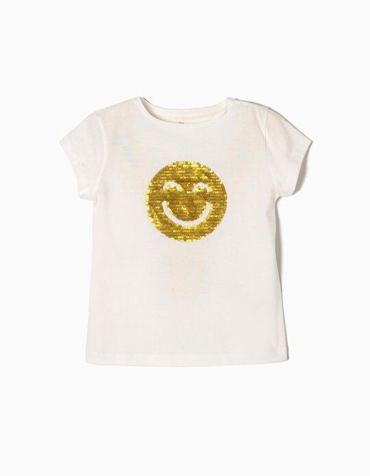 T-shirt Lantejoulas Reversíveis