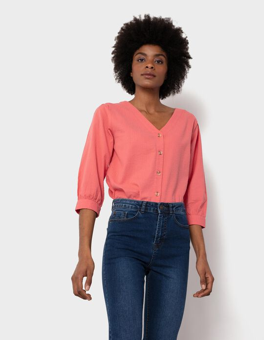 Textured Blouse, for Women