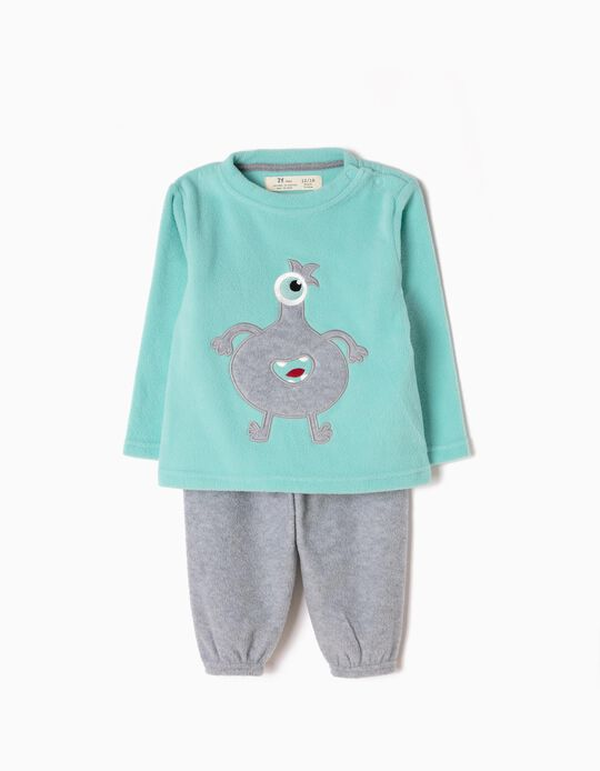 Pijama Polar Little Monster