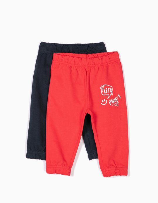 Pack de 2 calças de treino