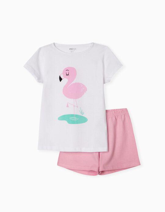 Pijama 'Flamingo', para Menina