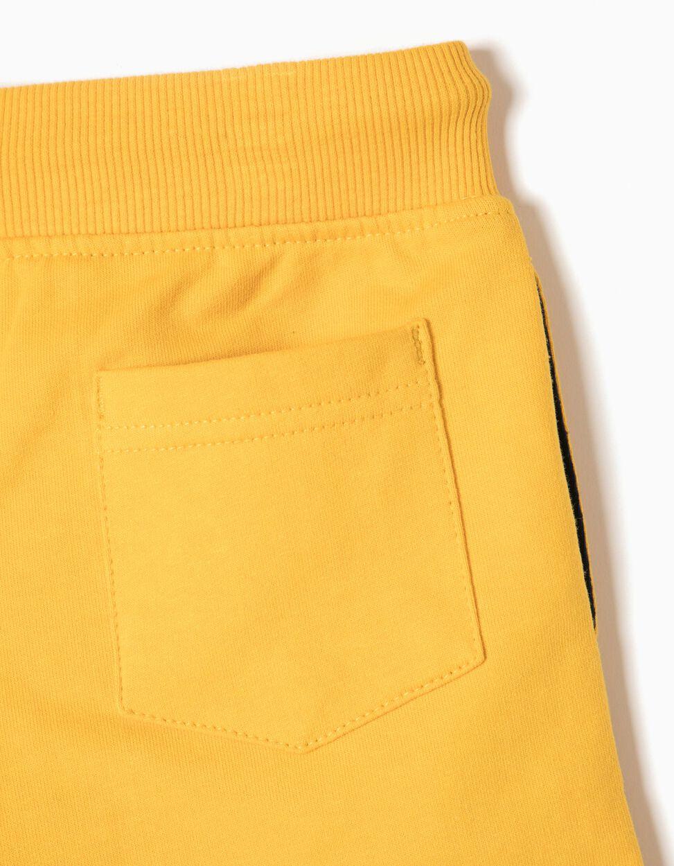 Calções de Treino Amarelos