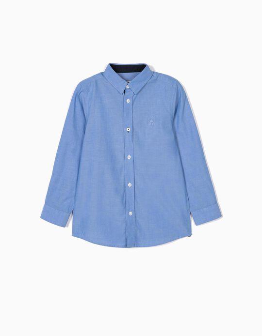 Shirt for Boys, 'B&S', Blue