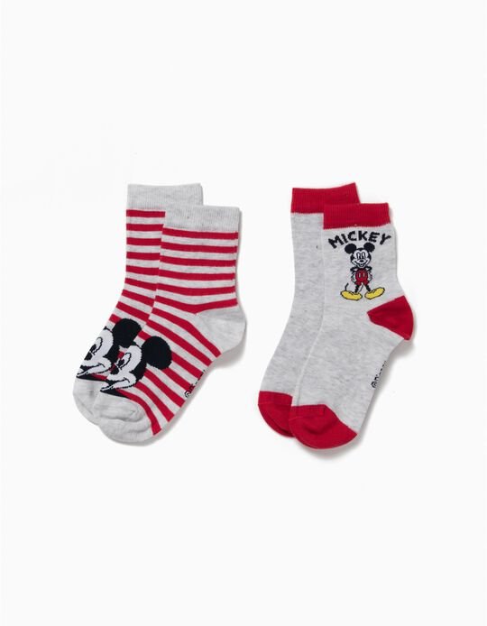 Pack of 2 Pairs of Socks, Mickey