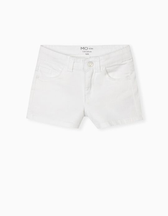 Twill Shorts, Girls