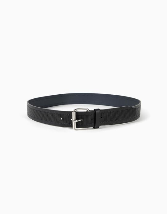 Textured Belt with Perforations