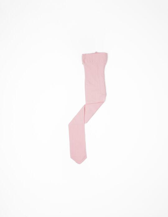 Collants rosa claro