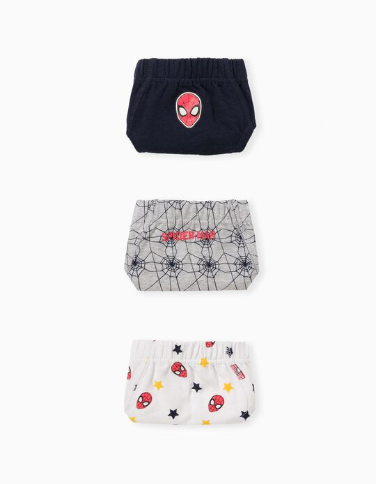 3 Pairs 'Marvel' Briefs, for Boys