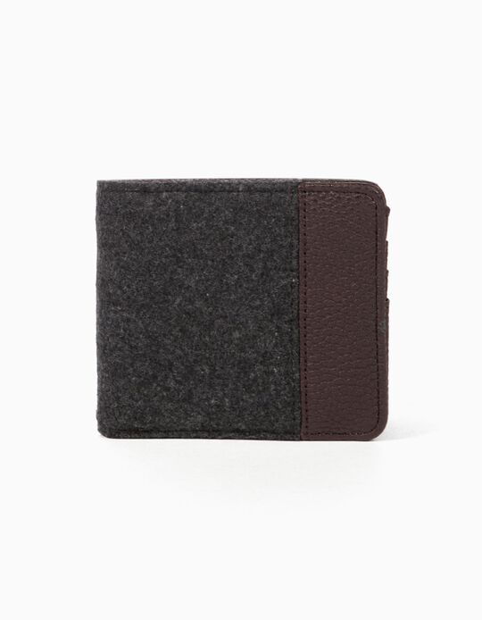 Cardholder with pebbled interior