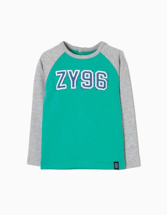 T-shirt Manga Comprida ZY 96