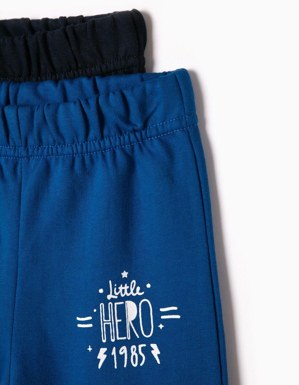 Pack 2 Calças Jogging Little Hero