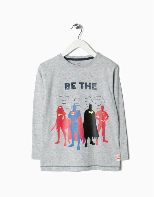 T-shirt Manga Comprida Justice League