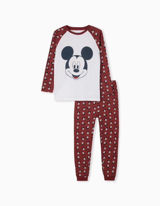 Pijama Disney, Menino, Branco
