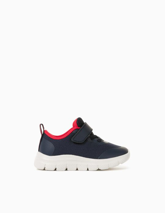 Trainers for Babies, Blue/ Red