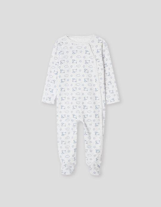 Babygrow Ovelhinhas, Recém-Nascido, Cinza