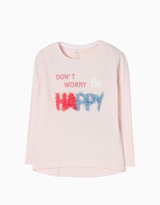 T-shirt Manga Comprida Happy