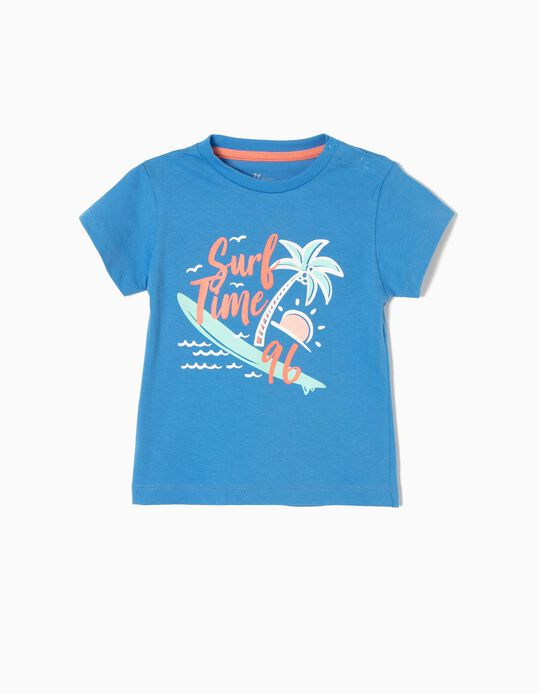 T-shirt Estampada Surf Time