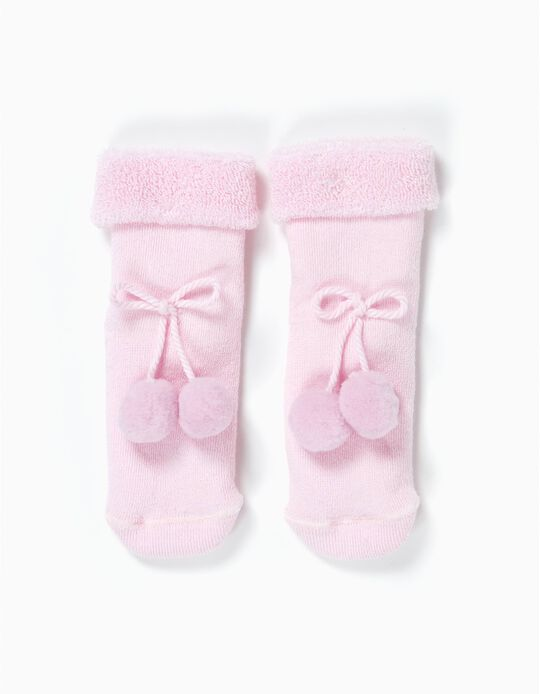Socks with Appliqué