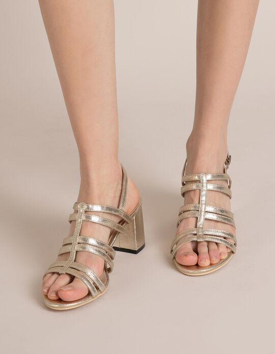 Sandálias Douradas