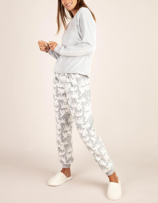 Conjunto pijama Urso Polar