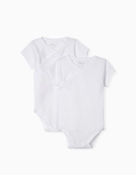 2 Basic Bodysuits, Baby Boys