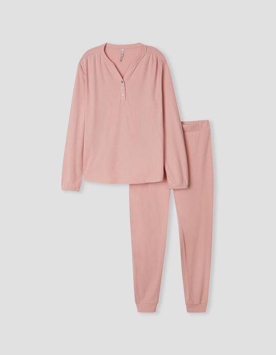 Plain Pyjamas, Women, Pink