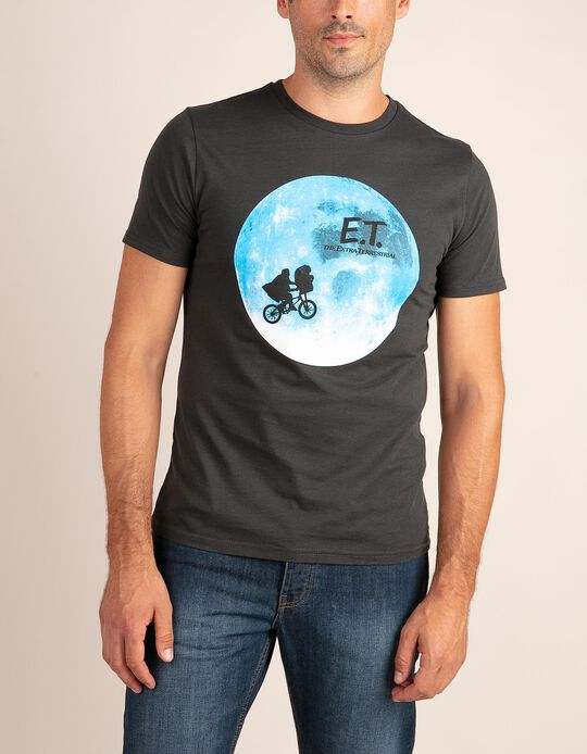 Plain T-Shirt with E.T. print