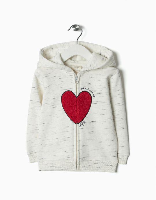 Casaco Jersey coração