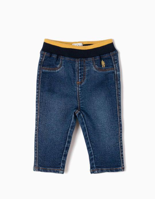 Soft Denim Trousers