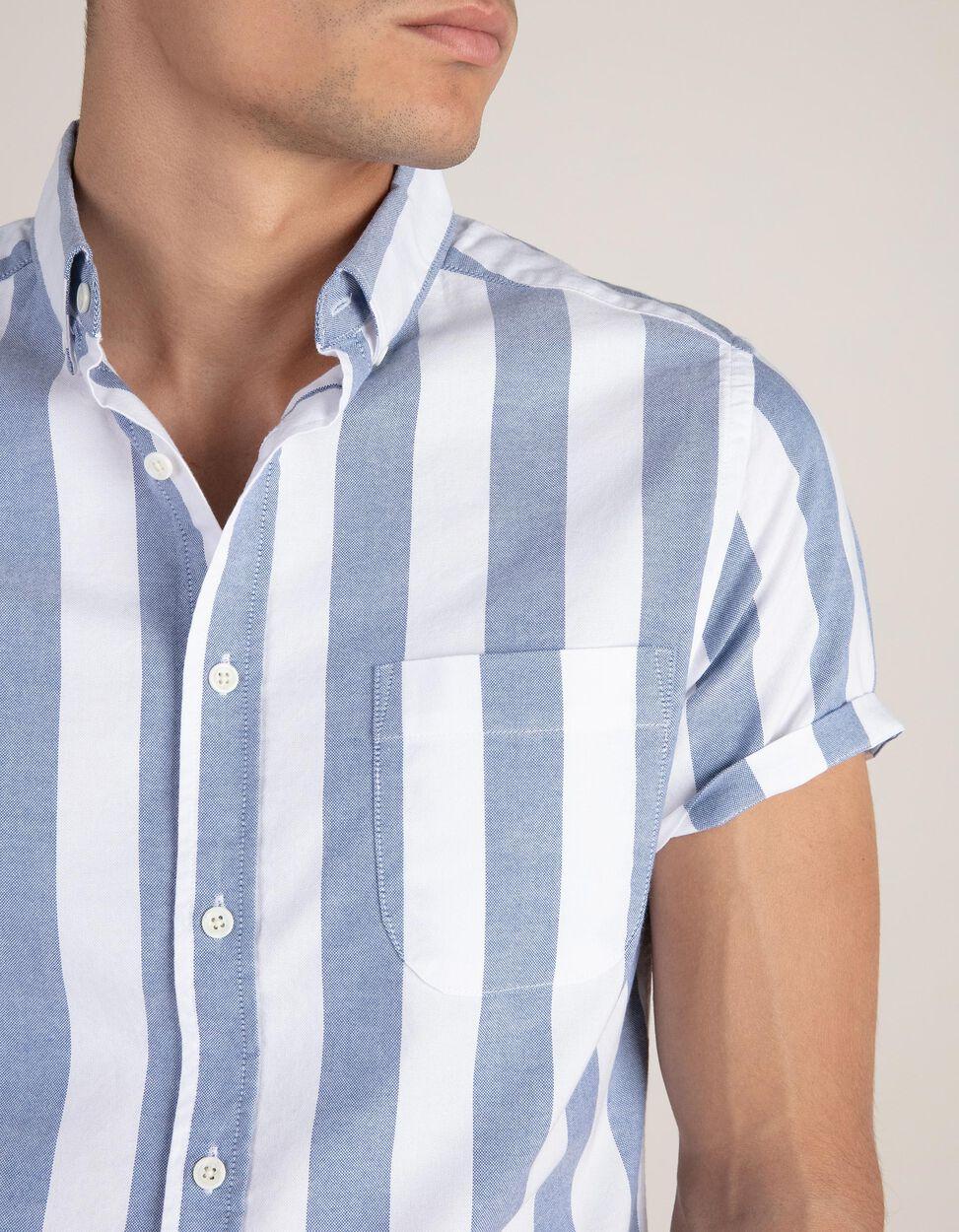 Camisa Riscas Slim Fit