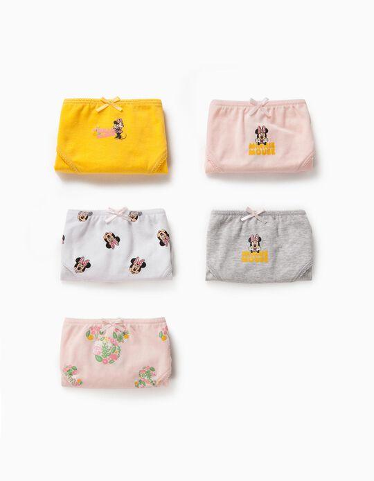 5 Briefs for Boys 'Minnie Mouse', Multicoloured