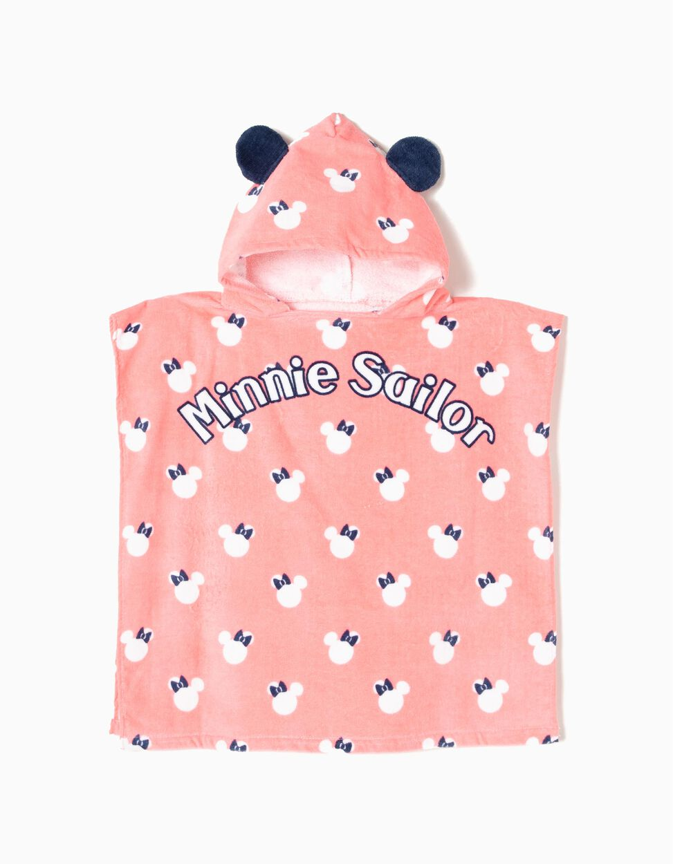 Poncho de Praia Minnie Sailor