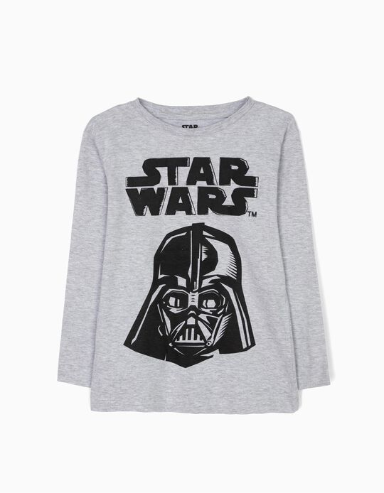 Grey Long-Sleeved Top, Star Wars
