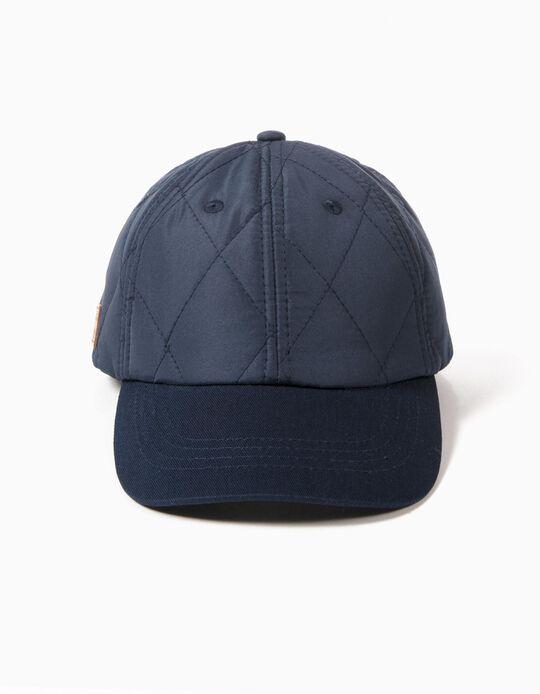 Blue Cap, Padded