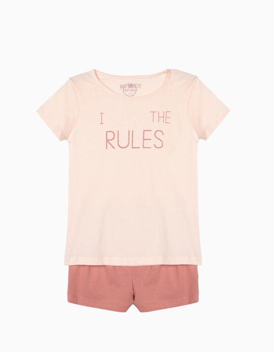 Pijama 'Dia da Mãe', Brilha no Escuro, Menina