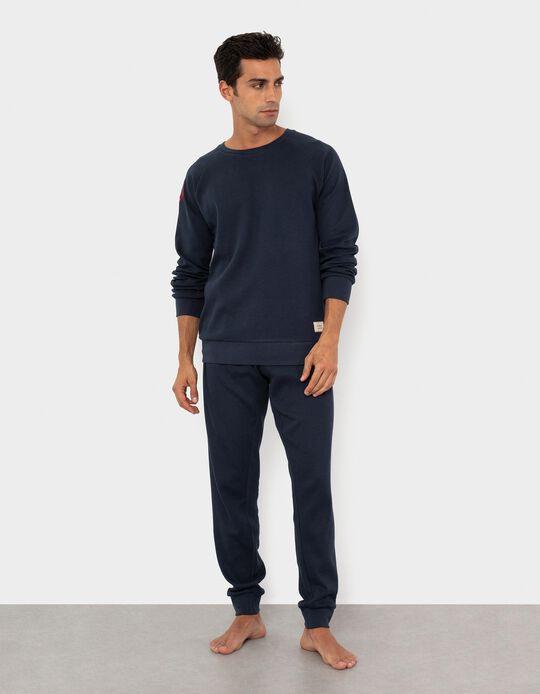 Dark Blue Pyjamas for Men