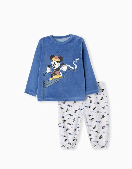 Disney Polar Fleece Pyjamas, Babies, Blue
