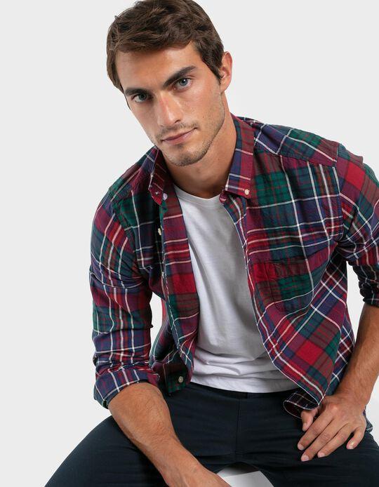 Chequered Slim Fit Shirt