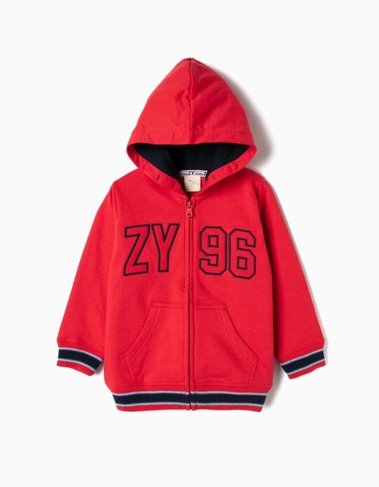 Hooded Jacket for Boys 'ZY 96', Red