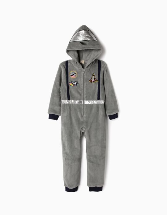 Onesie for Boys 'Astronaut', Grey
