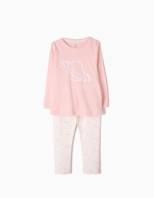 Pijama Manga Comprida e Calças Cosmic Girl