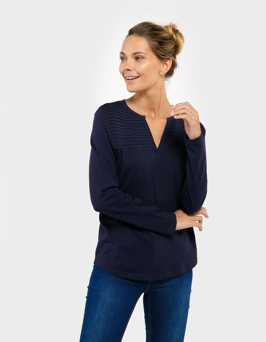 Long-Sleeved Top, Essentials