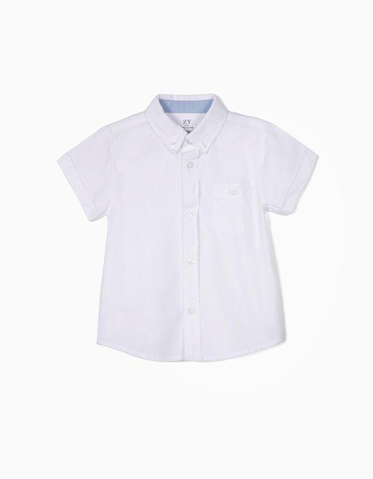 Camisa para Bebé Menino, Branco