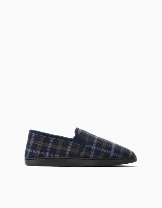 Chequered Slippers, Men