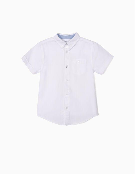 Camisa para Menino, Branco