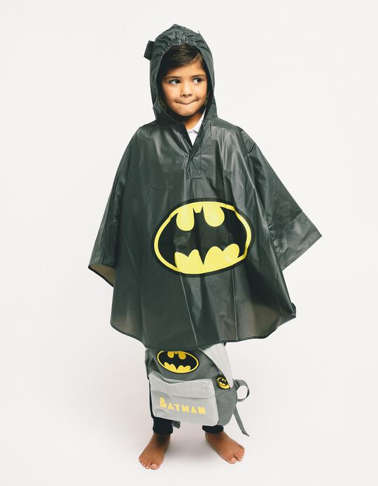 Mochila para Menino 'Batman', Cinza